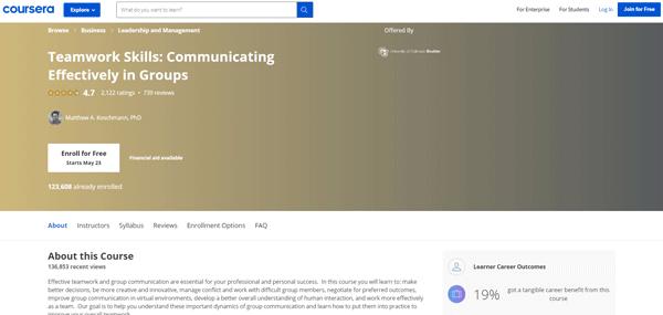 training program to improve your communication skills