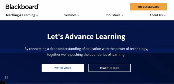 BlackBoard LMS Software