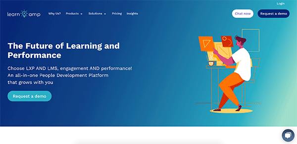 Top LMS System - LearnAmp