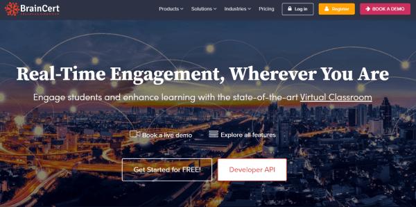 Virtual Classroom Platform - BrainCert