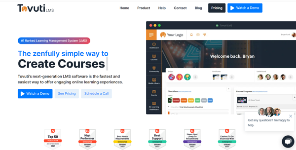 Learning Management System Vendor -Tovuti