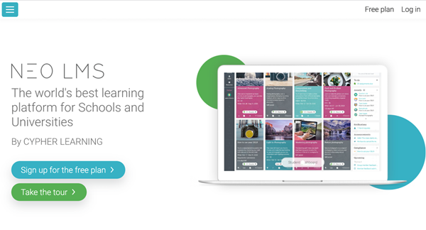 Free Learning Management System - NEO LMS
