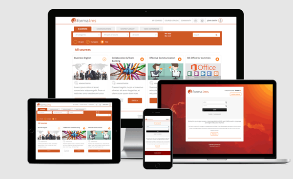 Free Learning Management System - Forma LMS