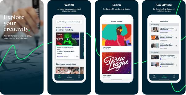 Free Online Learning Tool - Skillshare