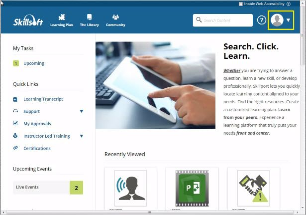 Enterprise Learning Management System - Skillport