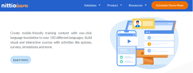 Interactive Learning Software - Nittio Learn