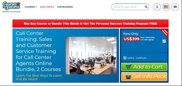 Call Center Course -  Courses for Success