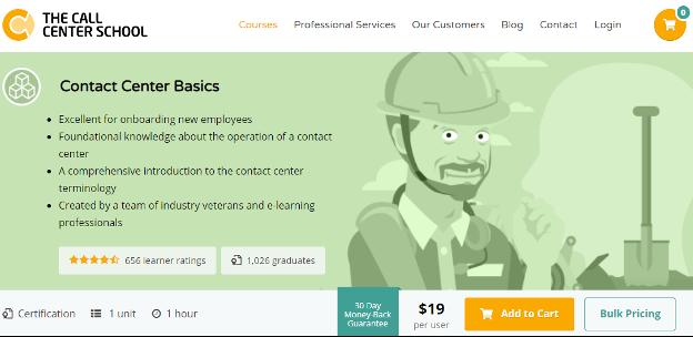 Call Centre Training Module -  The Call Center School