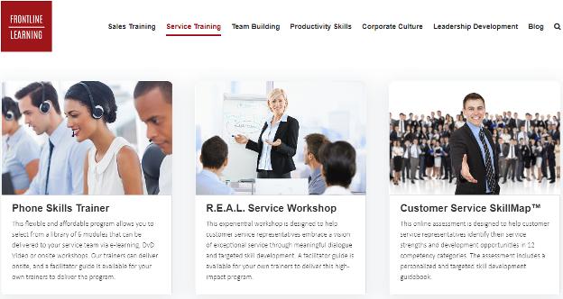 Frontline Learning elearning frontline solution