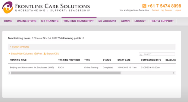Frontline Care Solutions frontline training solutions
