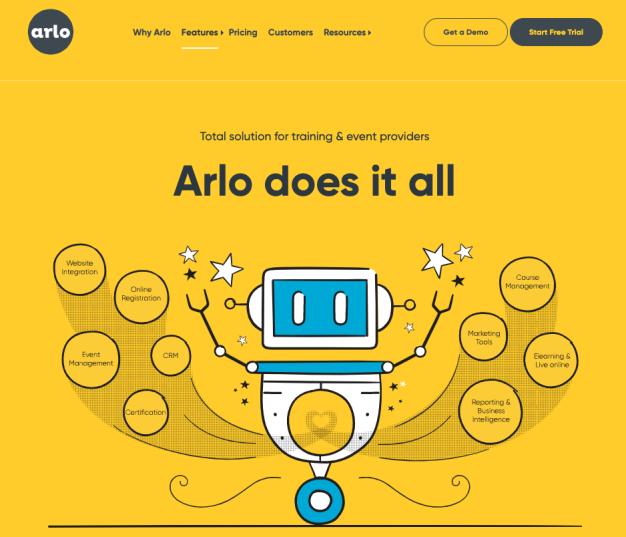 Digital Training Management System - ARLO