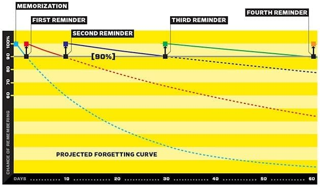 forgetting curve rote memorization