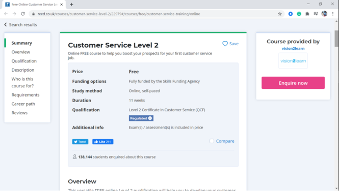 Free customer service training course #10 - Customer service level 2