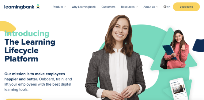 Online Learning Management System - Learning Bank