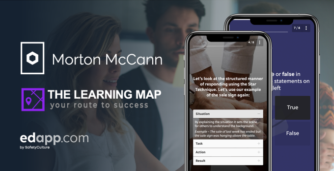 How Morton McCann use EdApp to deliver a blended learning approach to ISO training