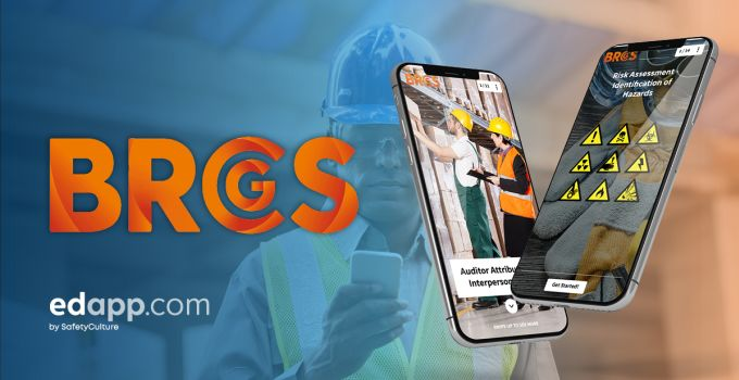 BRCGS chooses EdApp for mobile training