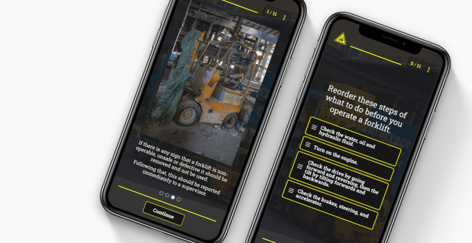 Free Forklift Training Course
