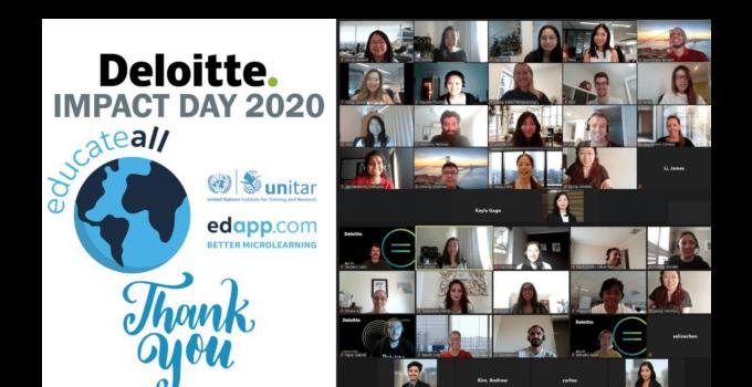 EdApp Deloitte Impact Day