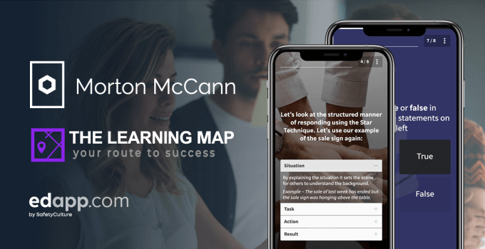 Morton McCann use EdApp blended learning approach to ISO training