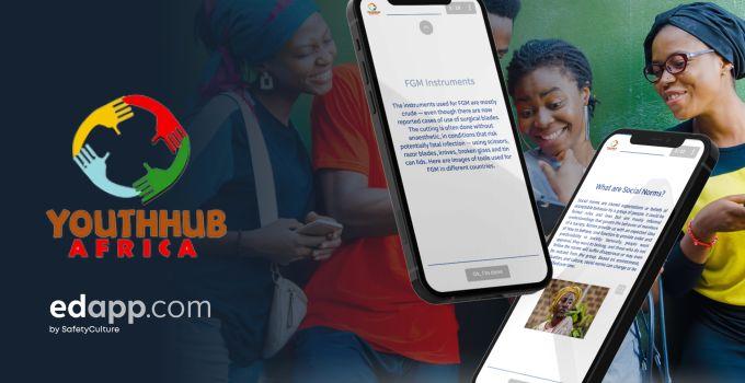 YouthhubAfrica x EdApp Partnership