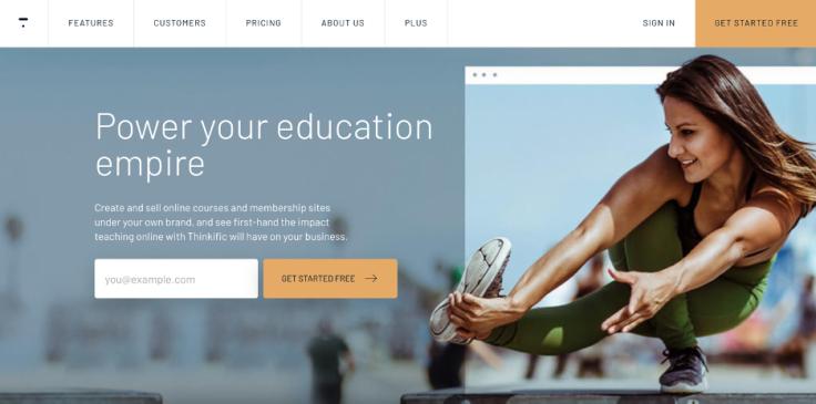 Online Training Software - Thinkific