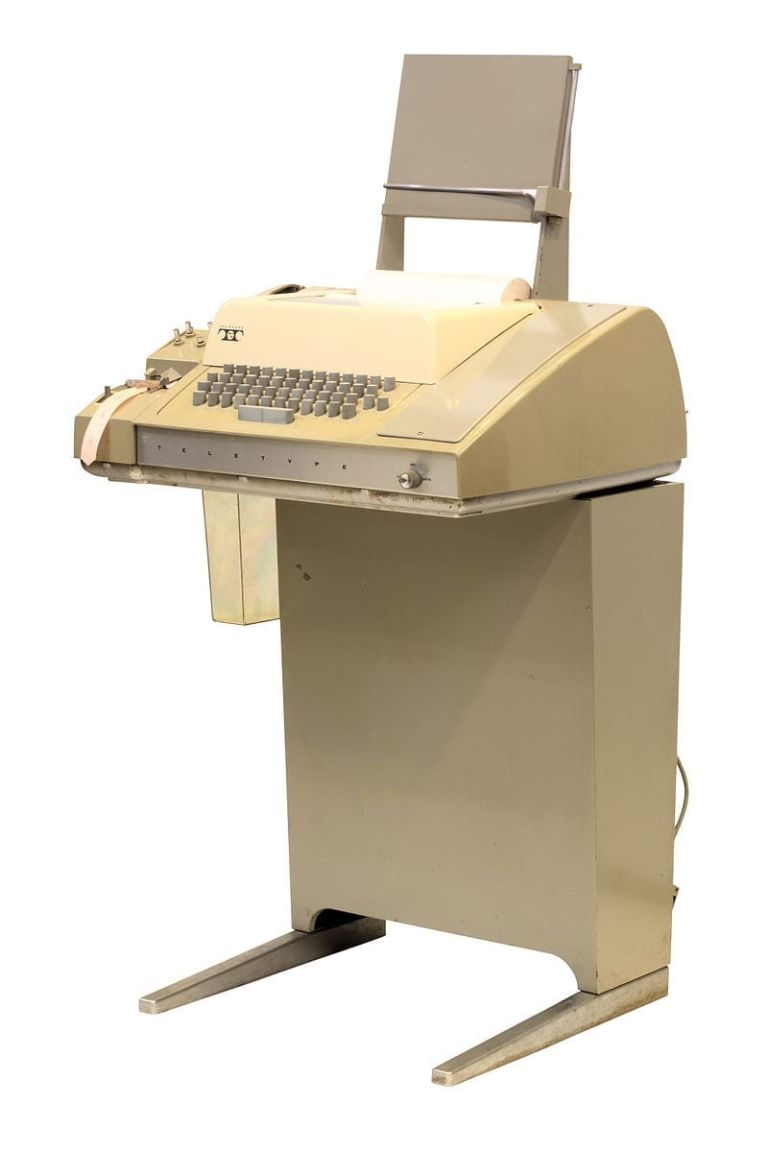 Something of a not-so-missing-link between typewriters and computers, the Teletype was an early foray into computer aided learning.