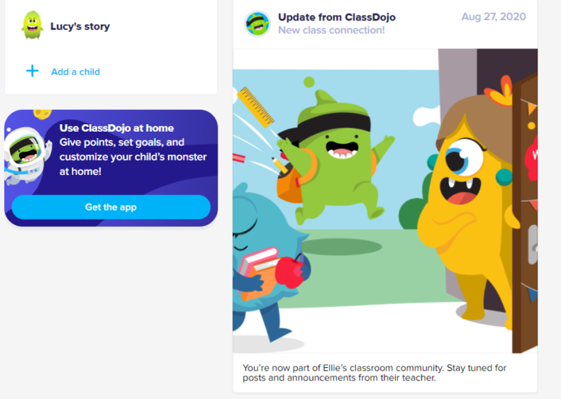 ClassDojo Virtual learning platform