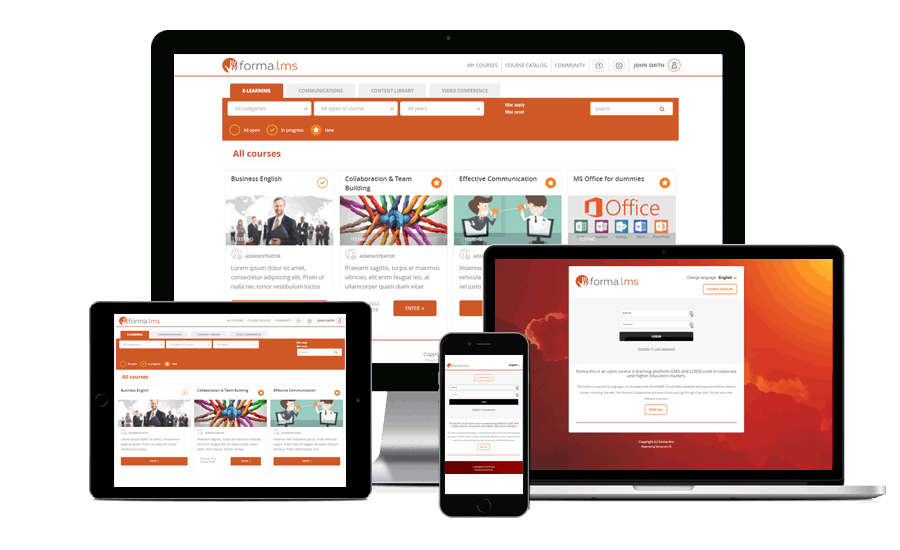 E Learning Suite - Forma LMS