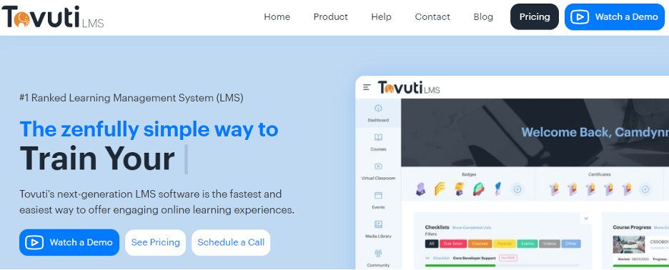 Tovuti Corporate LMS