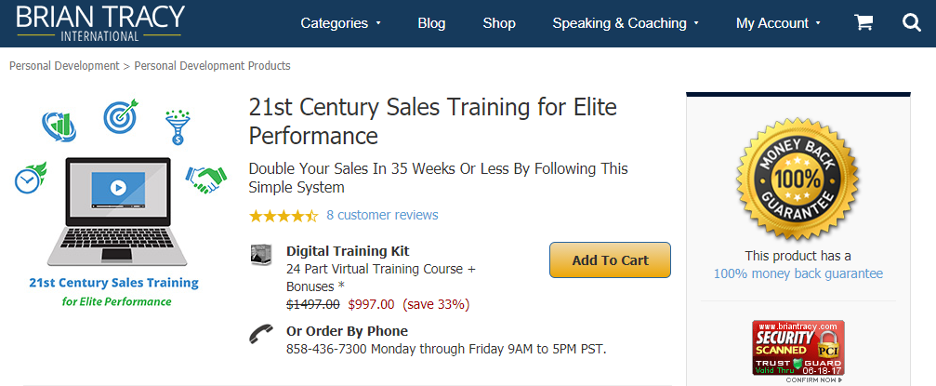 Sales Training Microlearning - Brian Tracy