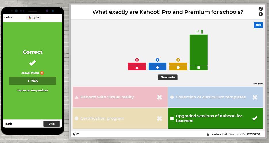 Virtual Classroom Software - Kahoot