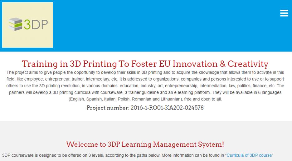 3DP LMS Technology