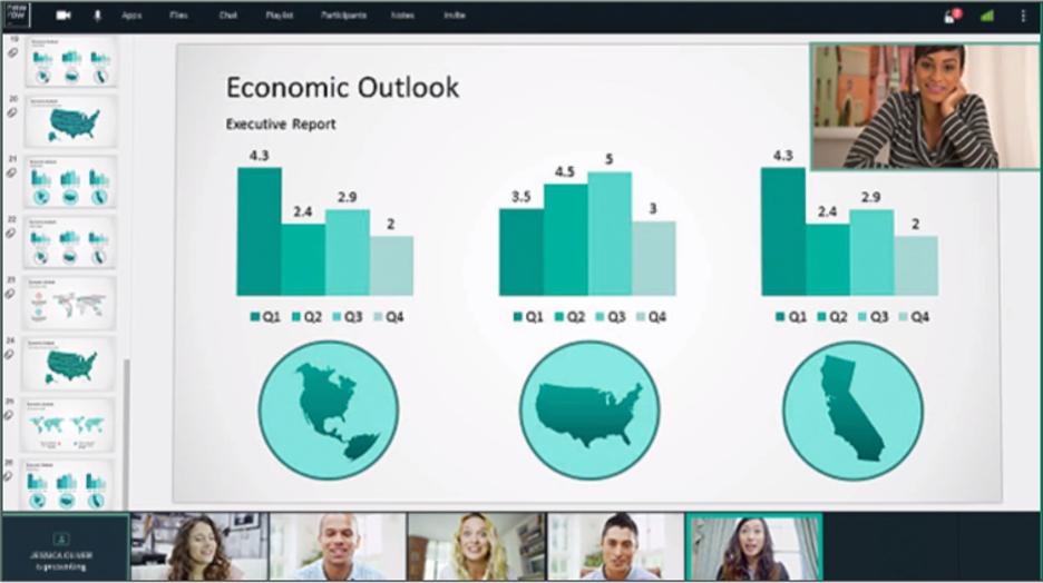 Virtual Classroom Platform - NewRow