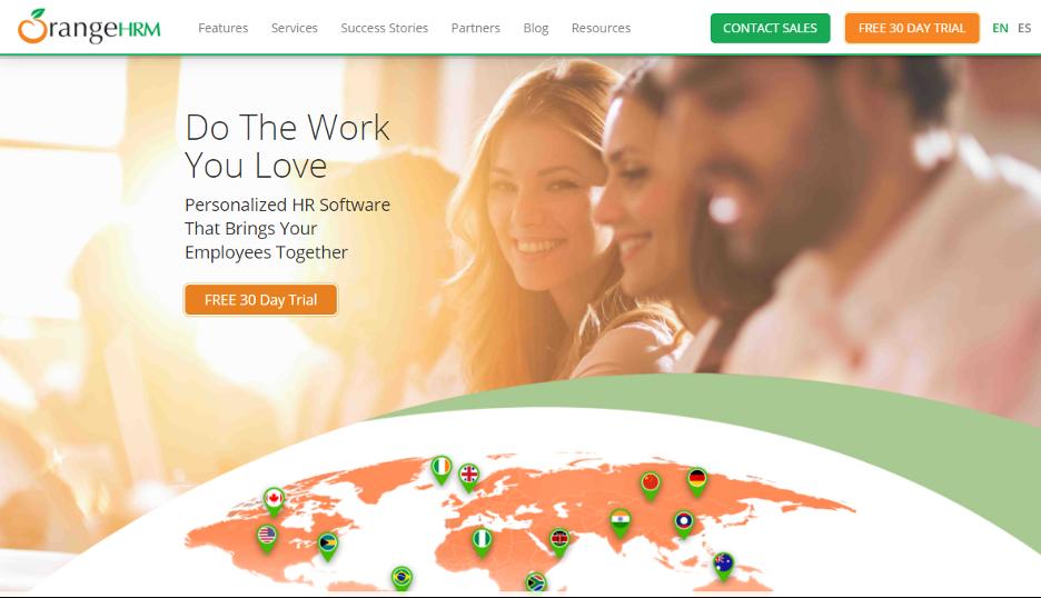 Orange HRM Web Hr Software