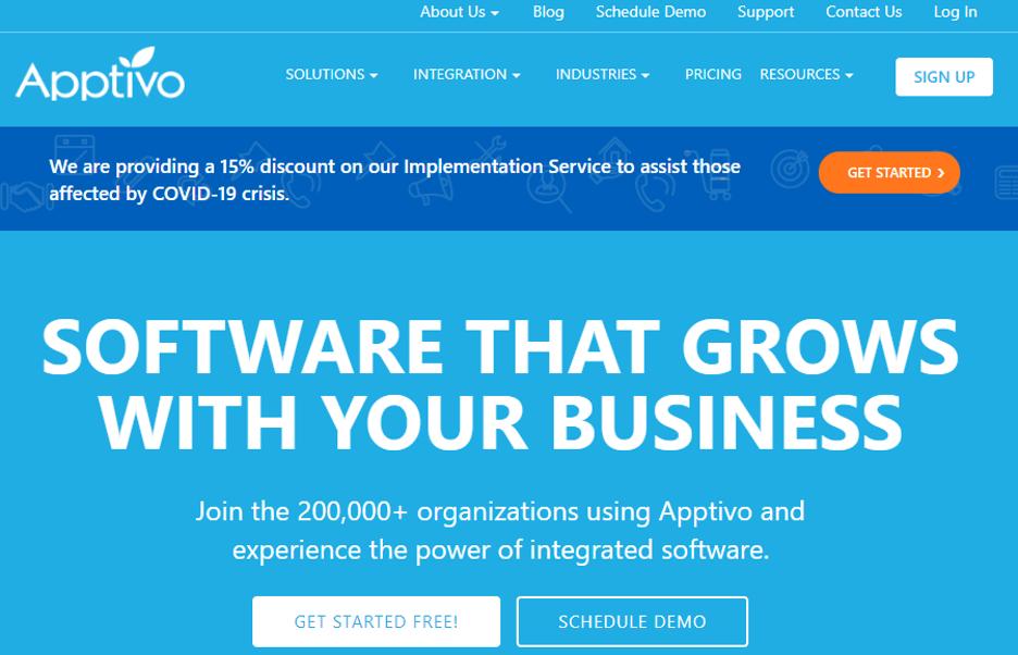 Apptivo Web Hr Software