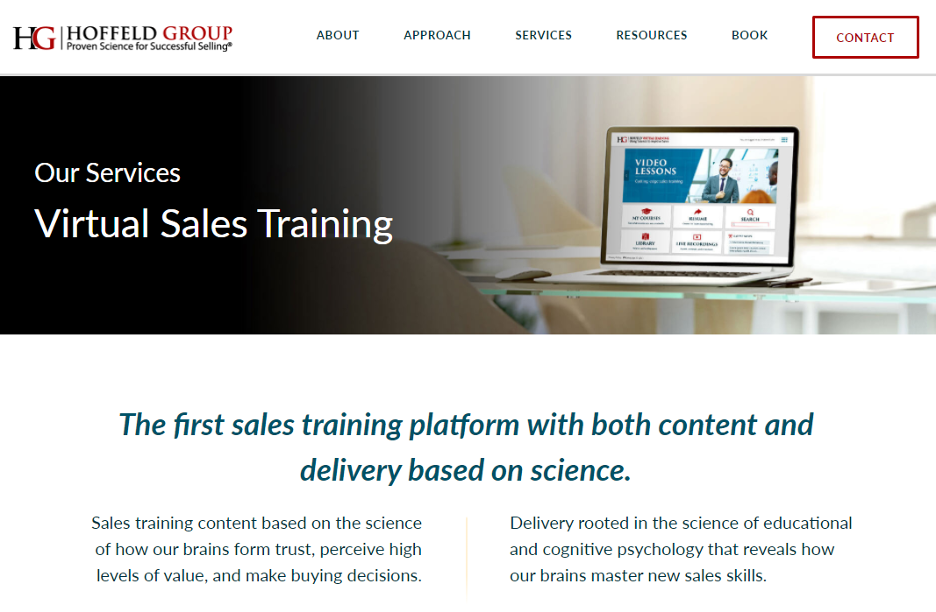 Sales Training Microlearning Course - Hoffeld Group