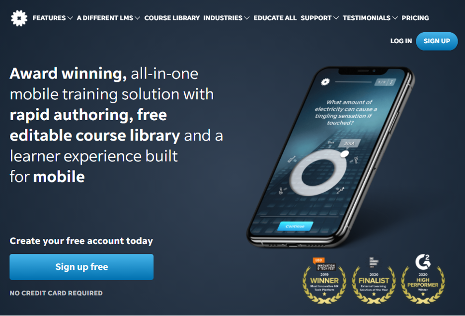 Elearning Software - EdApp