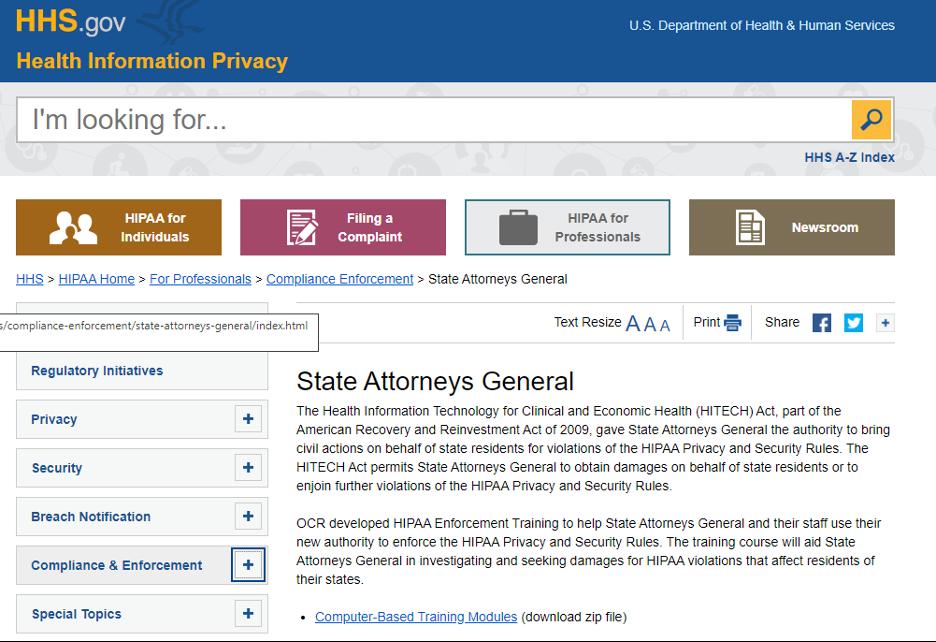Free HIPAA Training - U.S. Department of Health & Human Services