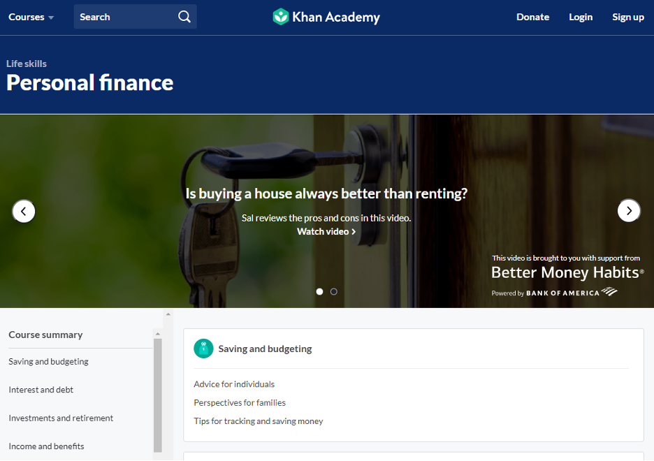 Khan Academy Video Learning Solution