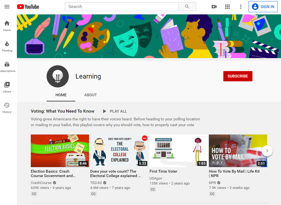 YouTube Video Learning Solution