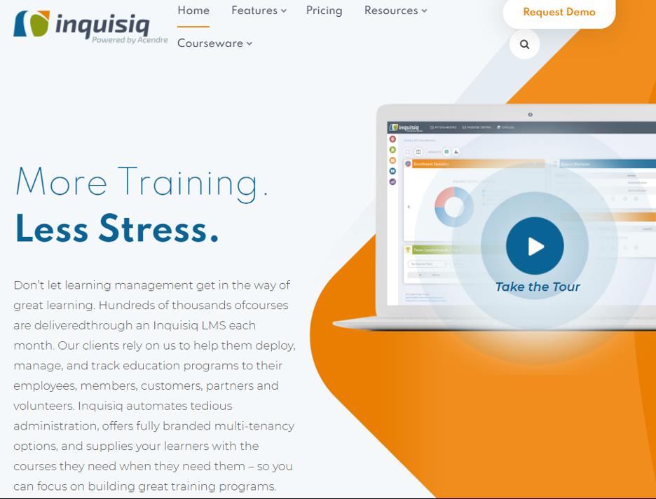 E-learning Software Open Source -  Inquisiq