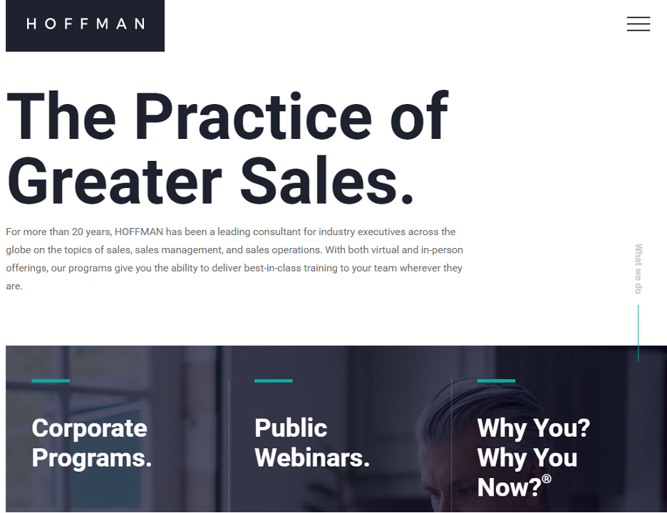Sales Training Microlearning Course - Hoffman Training