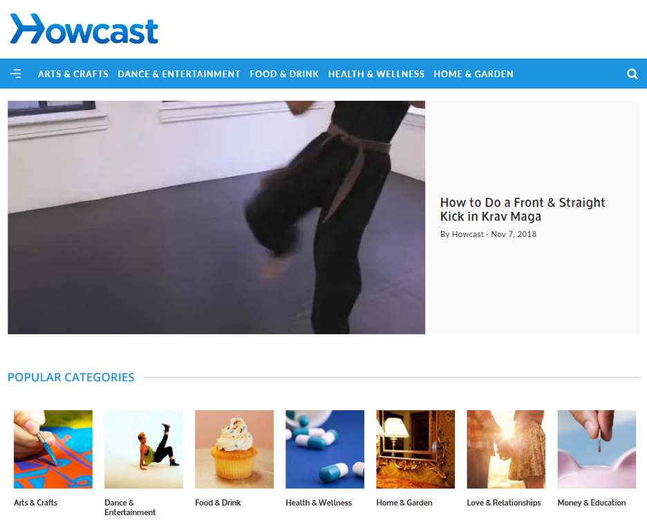 Howcast Video Learning Solution