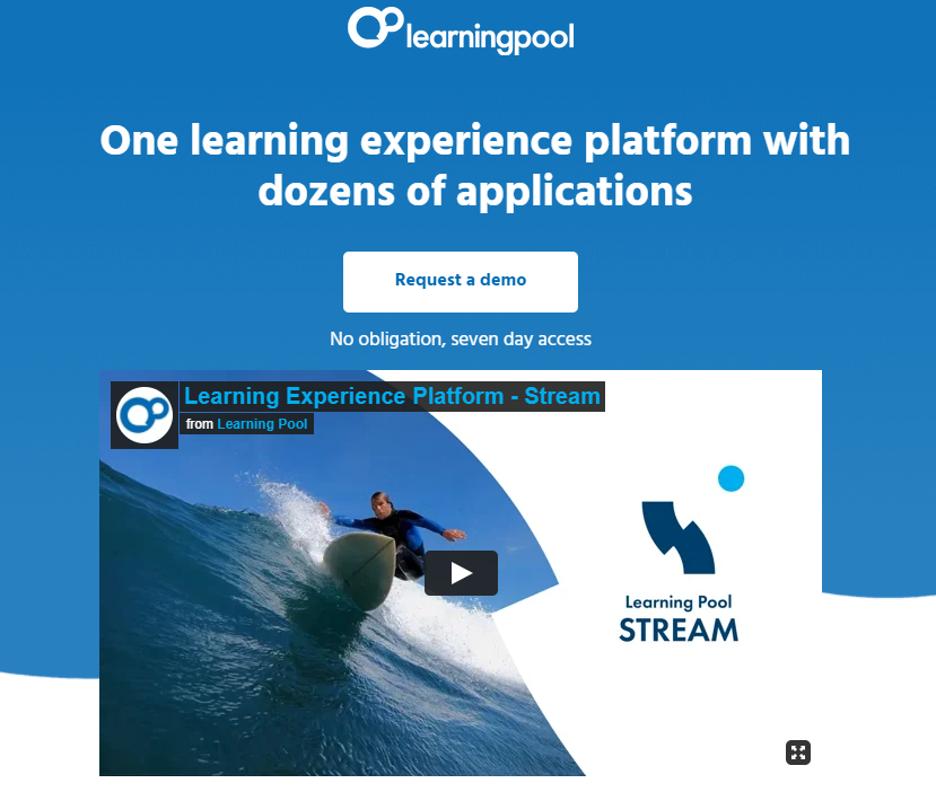 LearningPool Corporate E Learning Solution