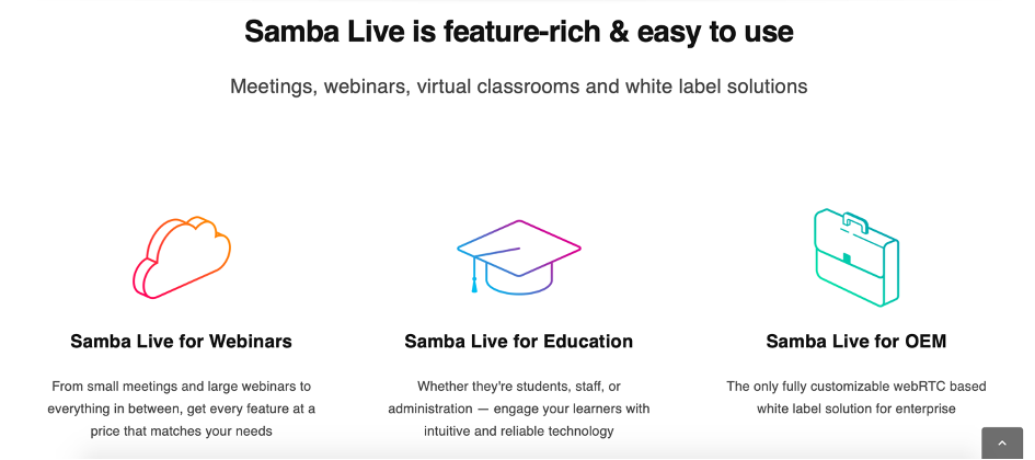 Virtual Classroom Software - Samba Live