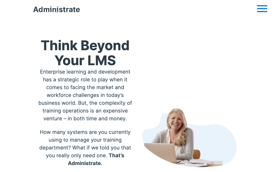 Digital Training Management System - Administrate