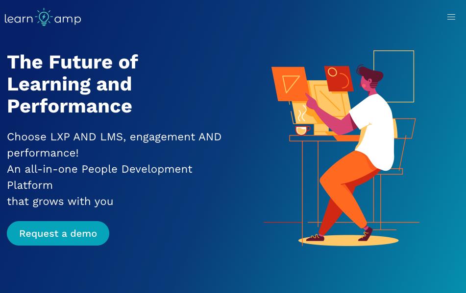 Digital Training Management System - Learnamp