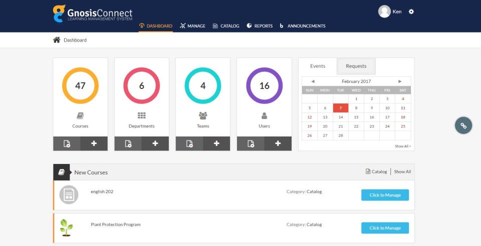 Enterprise Learning Management System - GnosisConnect