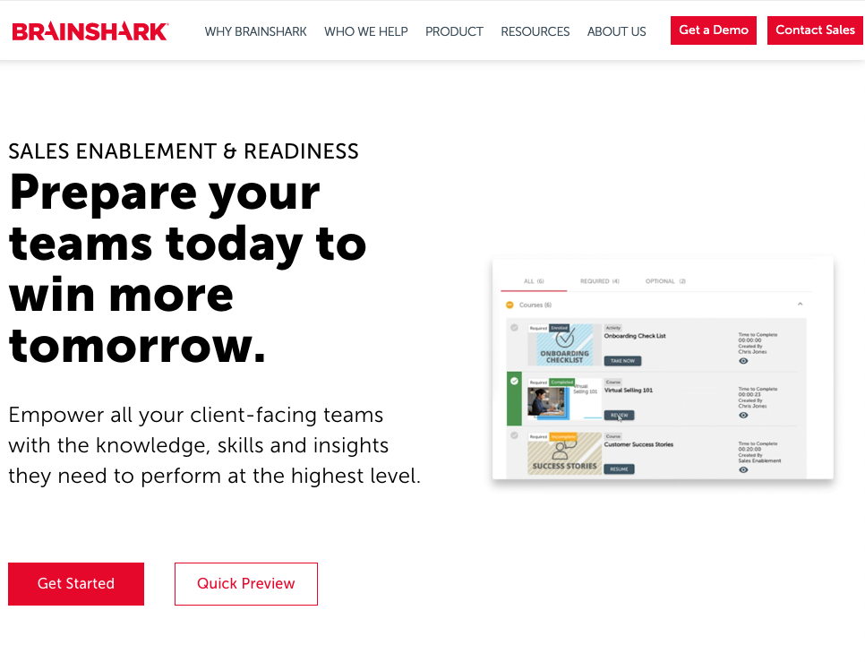 Instructional Design System - Brainshark