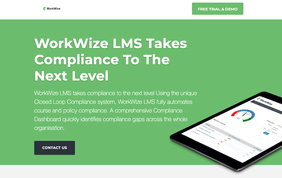 LMS for small business – Workwize